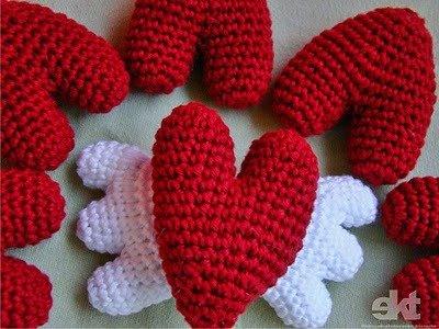 dia dos namorados - artesanato em crochê
