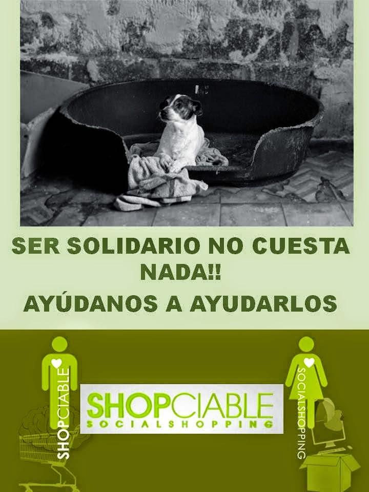 COMPRA A TRAVÉS DE SHOPCIABLE Y ELIGE NUESTRA CAUSA