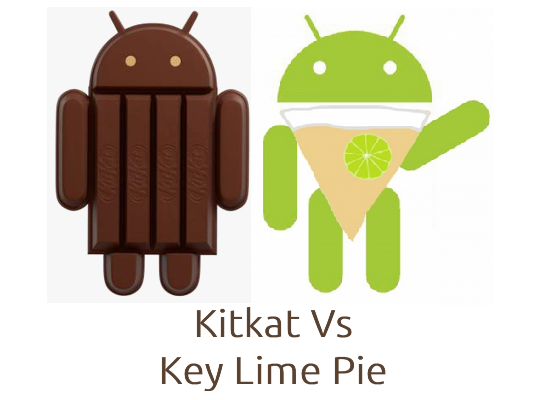 Kitkat Vs Key Lime Pie