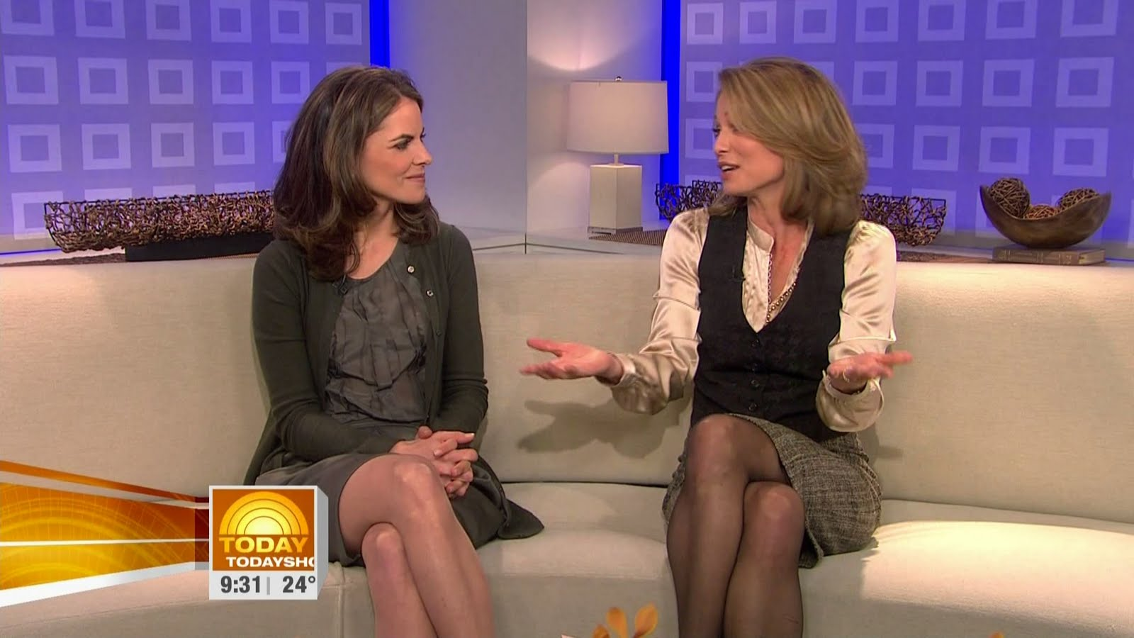 Amy Robach In Pantyhose Pics