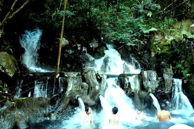 Pemandian Air Panas Guci Tegal Jawa Tengah
