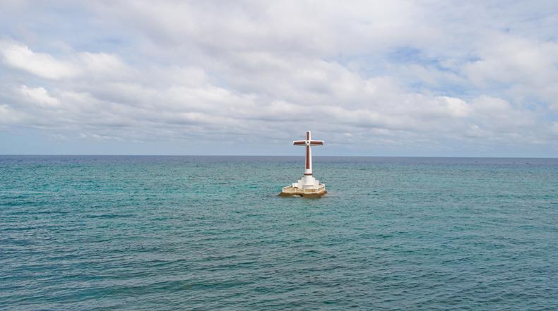 El Cementerio Hundido de la isla de Camiguin