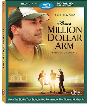 "Disney's ""Million Dollar Arm"" Blu-ray™+Digital HD Review Giveaway"