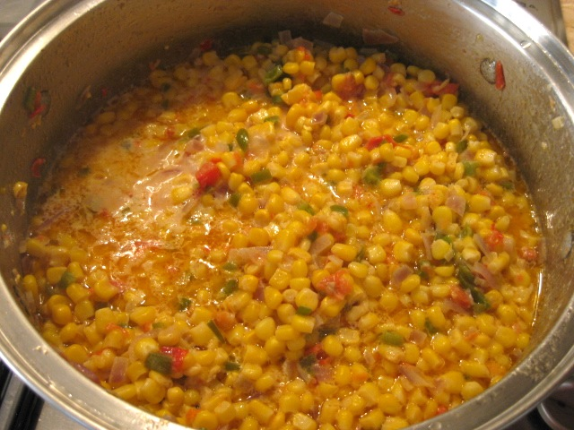 Maque Choux – Spicy Cajun Corn