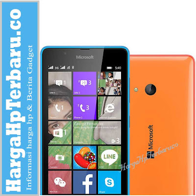 Harga Hp Terbaru Dan Spesifikasi Microsoft Lumia 540