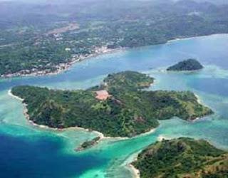 pandangan atas Pulau Sebatik