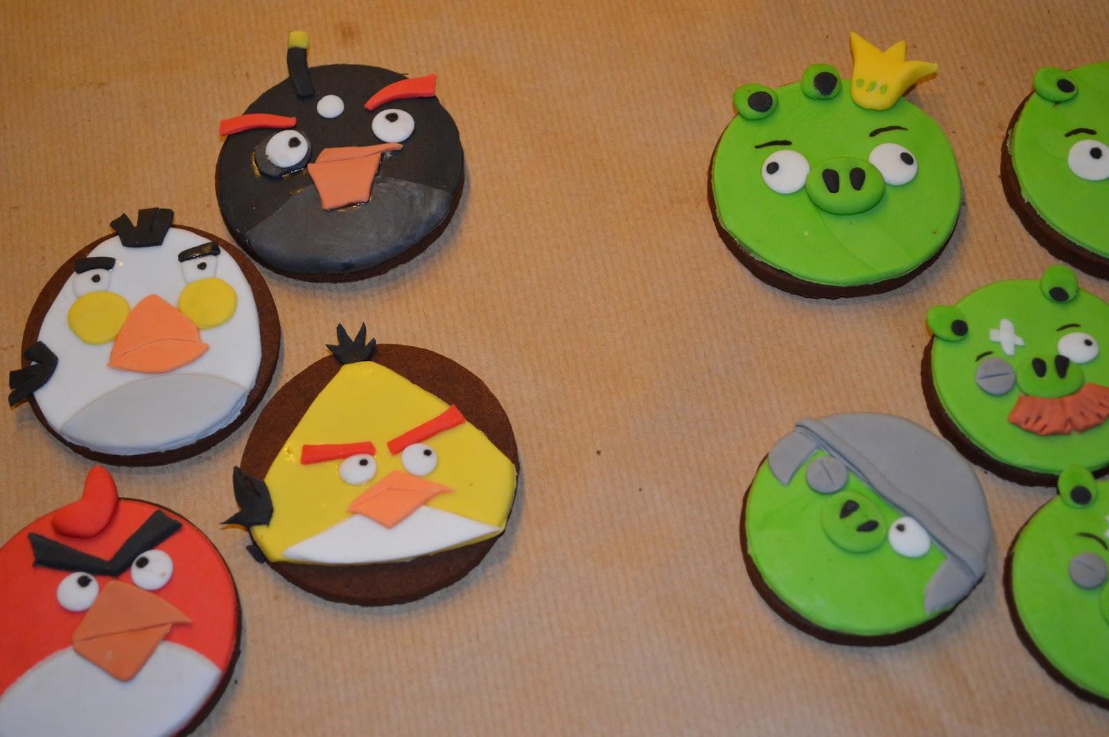 Angry Birds, pastis fondant