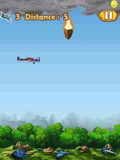 Screenshots of the Crash Control for java mobile, phone.