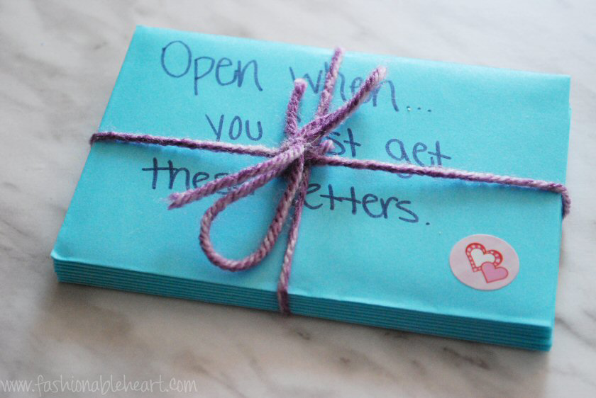 open when letters pinterest inspired love valentines