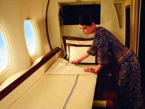 Những khoang hạng siêu sang nhất của các hãng hàng không