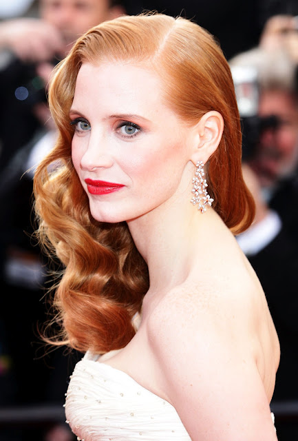 Jessica Chastain is YSL's Ambassador for New Fragrance Manifesto
