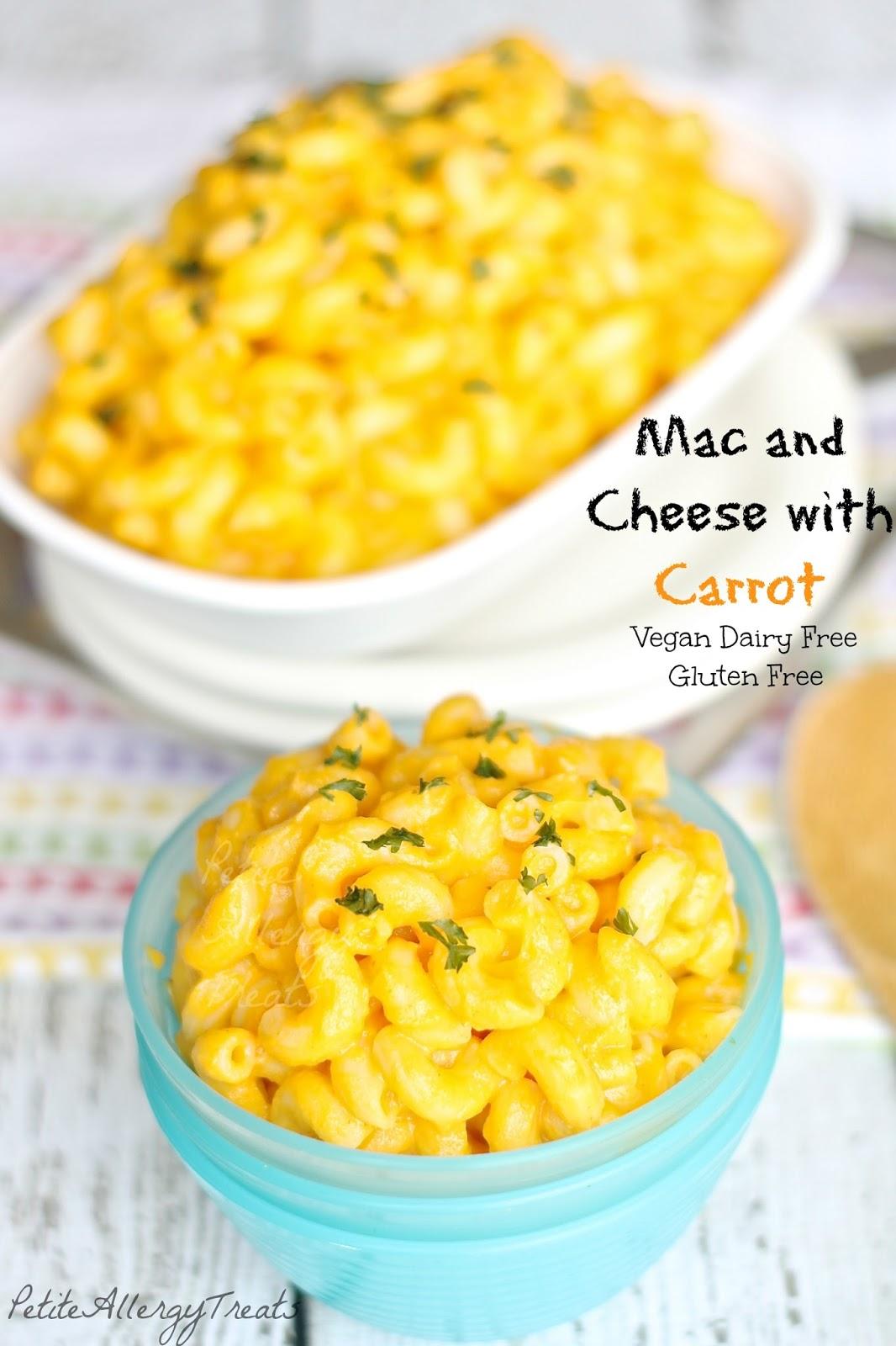 Petite Allergy Treats: Mac and Cheese (Dairy/Gluten Free Vegan)