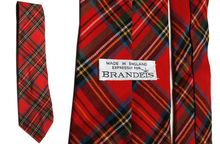 Brandeis wool and cotton