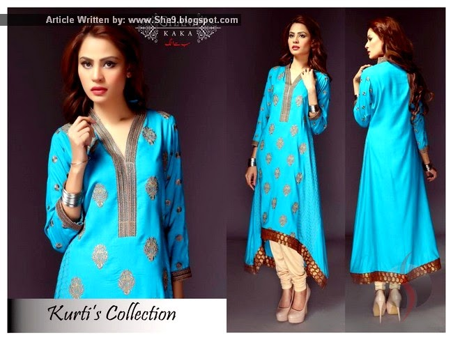 Kurti Fashion in Pakistan
