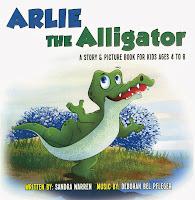 Arlie the Alligator: A Story & Picture Book for Kids Ages 4 to 8