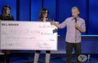 Maher and Obama's Check