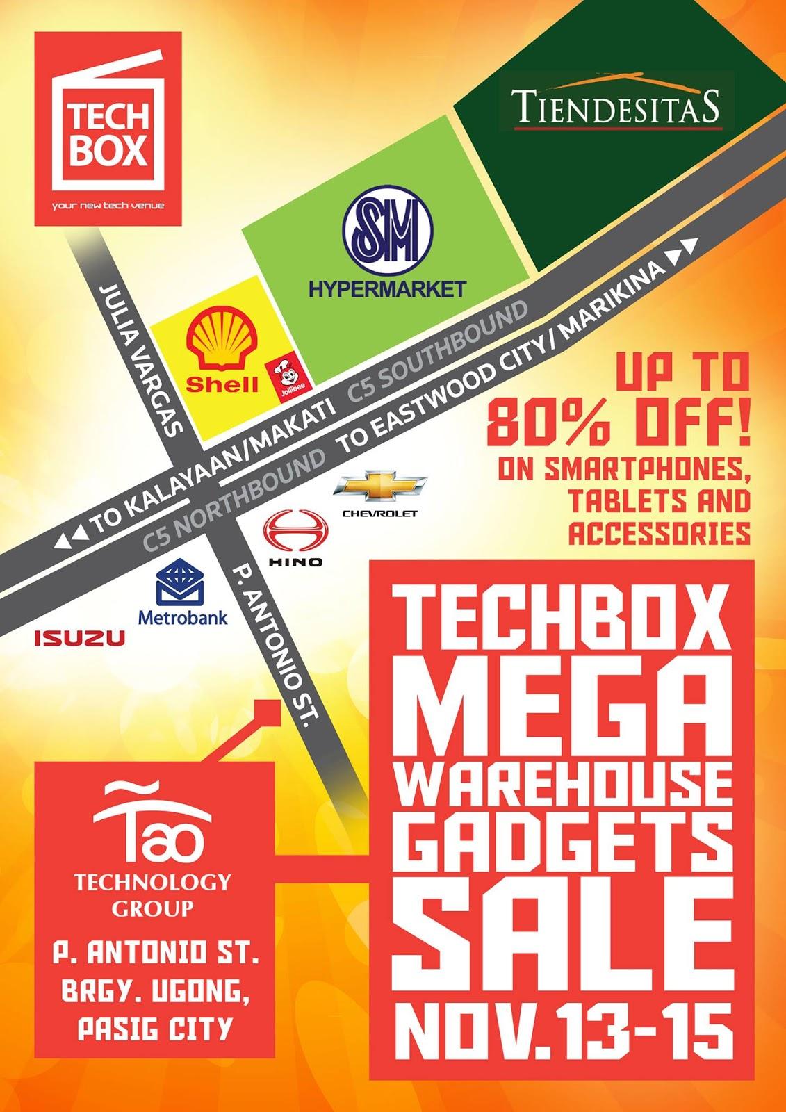 Mega Sale Handy Map