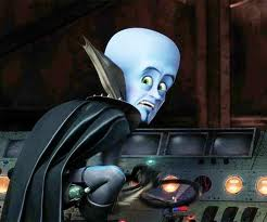 "Megamind startled look ""Megamind"" 2010 animatedfilmreviews.blogspot.com"