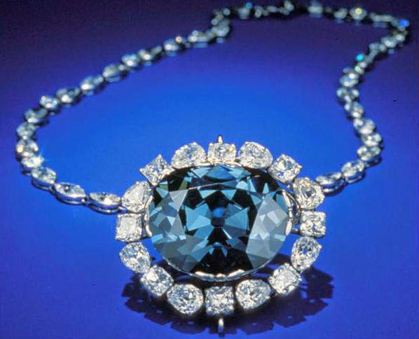 The Hope diamond of Golconda