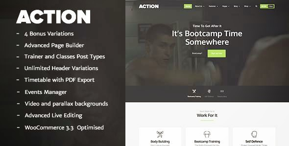Action - The Ultimate Fitness Theme