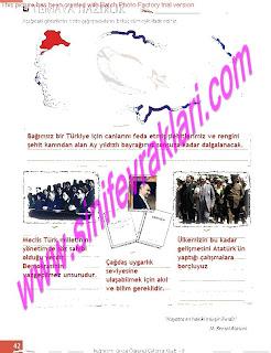 8.Sinif Turkce Enderun Yayinlari Calisma Kitabi Cevaplari Sayfa 42