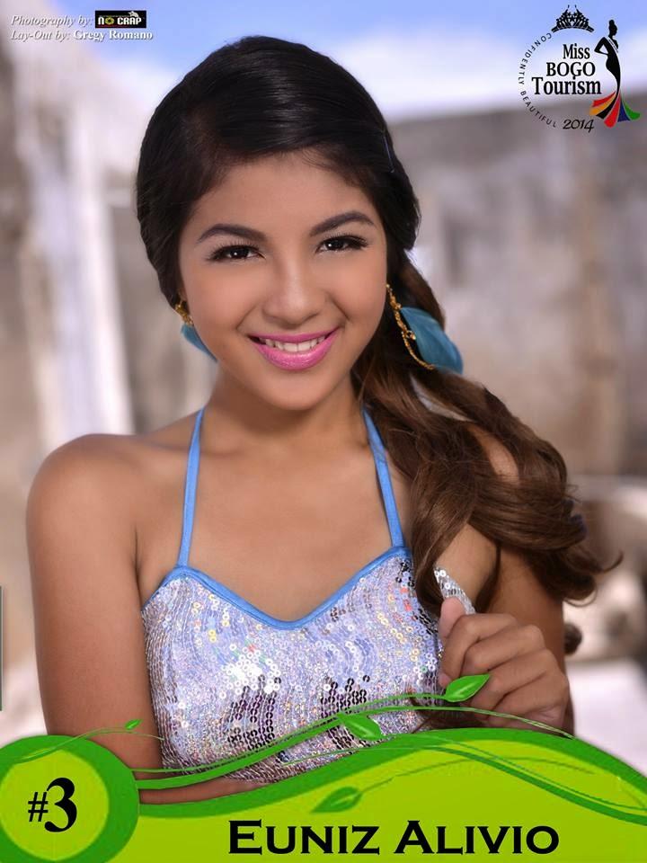 Euniz Alivio  - Miss Bogo Tourism 2014