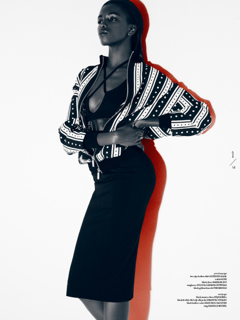 Leomie Anderson by Lucian Bor for Veoir Magazine SS14