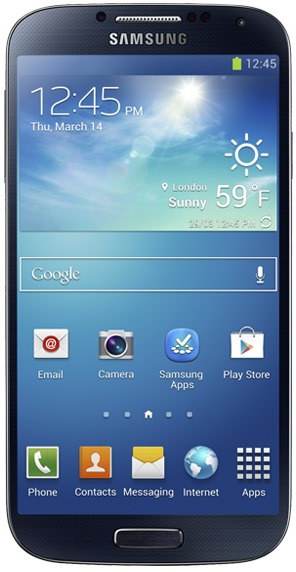Samsung I9500 Galaxy S4 Smartphone Front Design Look