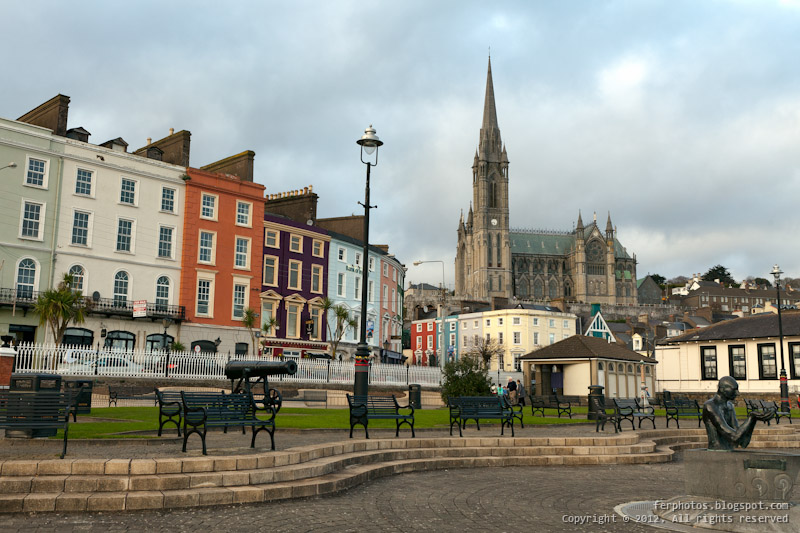 Cobh Cork Ireland cathedral town