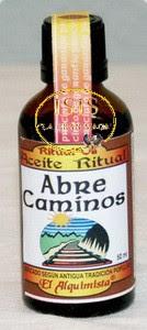 ACEITE RITUAL ABRE CAMINOS
