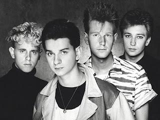 La formación de más exitosa de Depeche Mode con Gahan, Gore, Fletcher y Wilder