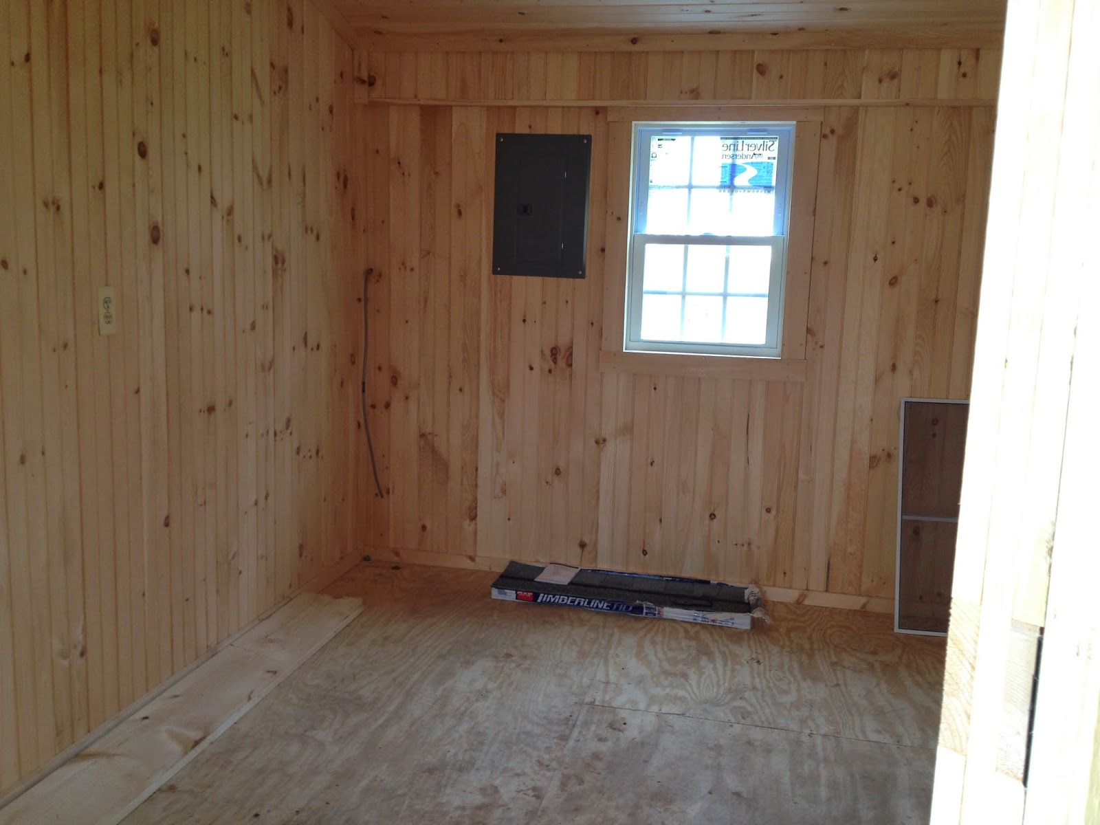 Managing The Small Horse Farm Staining And Finishing The Tack Room