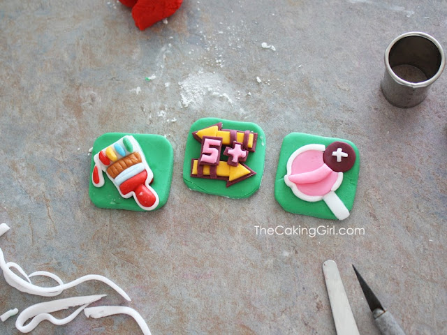 candycrush cupcake toppers