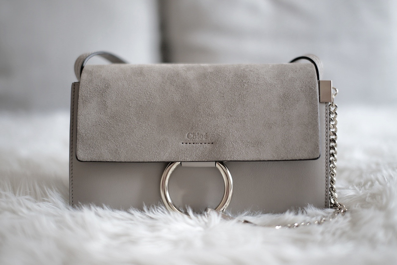 ... as a second one makes its way into my handbag collection almost exactly  one year after my first Chloé bag. The