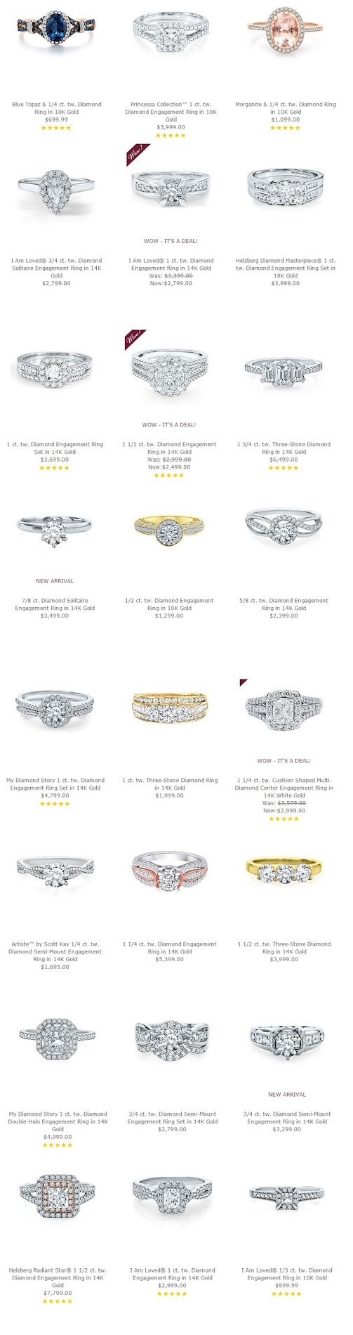 Helzberg Engagement Rings