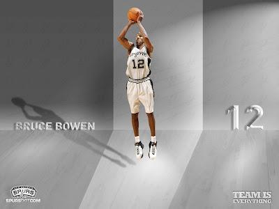 San Antonio Spurs Bruce Bowen