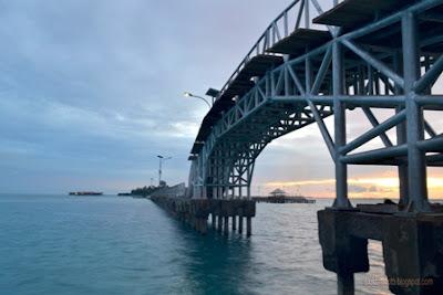 jembatan eksotis di pulau tidung