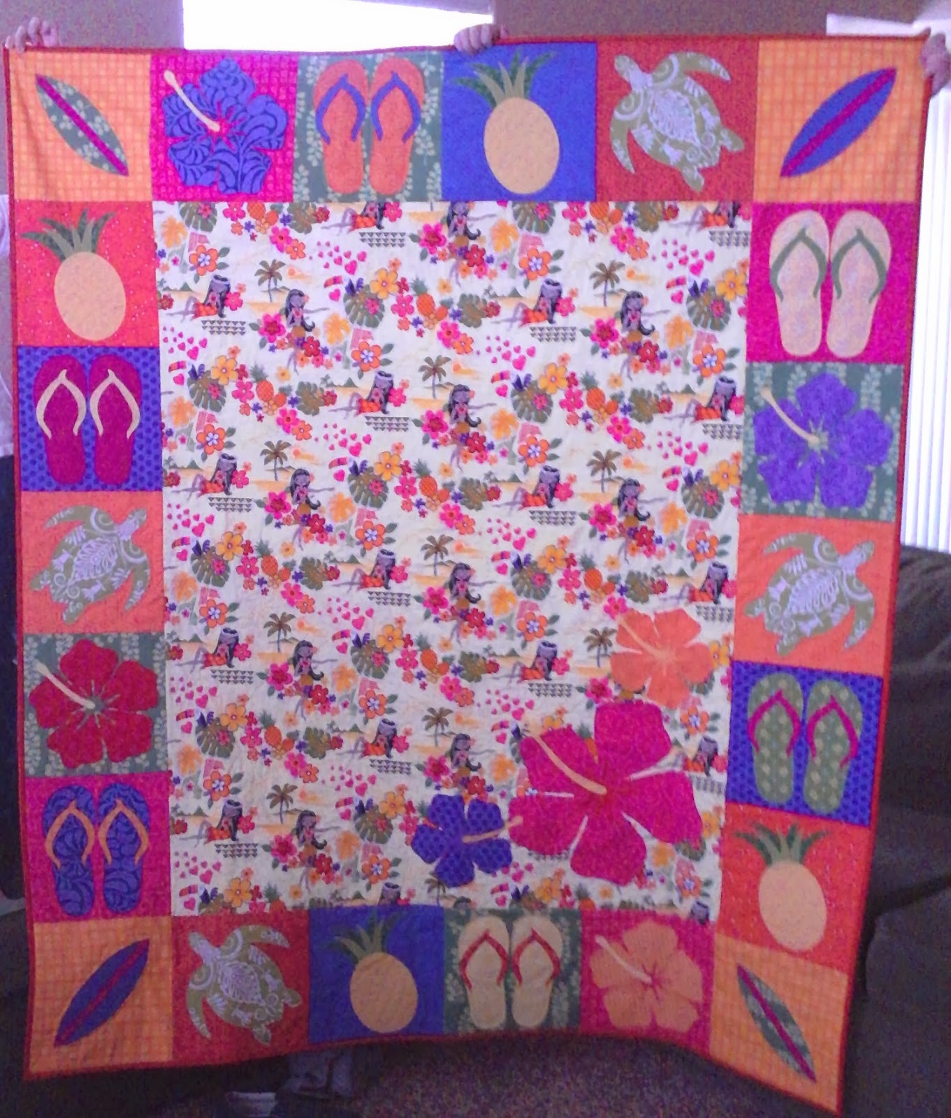 Crazy Old Ladies Quilts: Happy Birthday Ashley