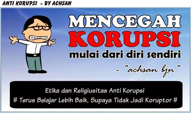 Etika dan Religiusitas Anti Korupsi