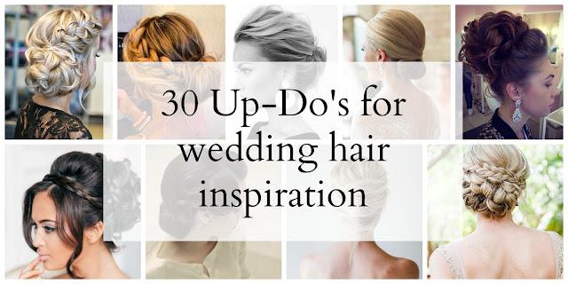 Wedding Hair Inspiration | Up-Do's