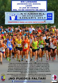 carrera atletismo losada www.mediamaratonleon.com