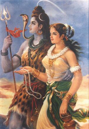 Lord Shiva & Parvathi 6