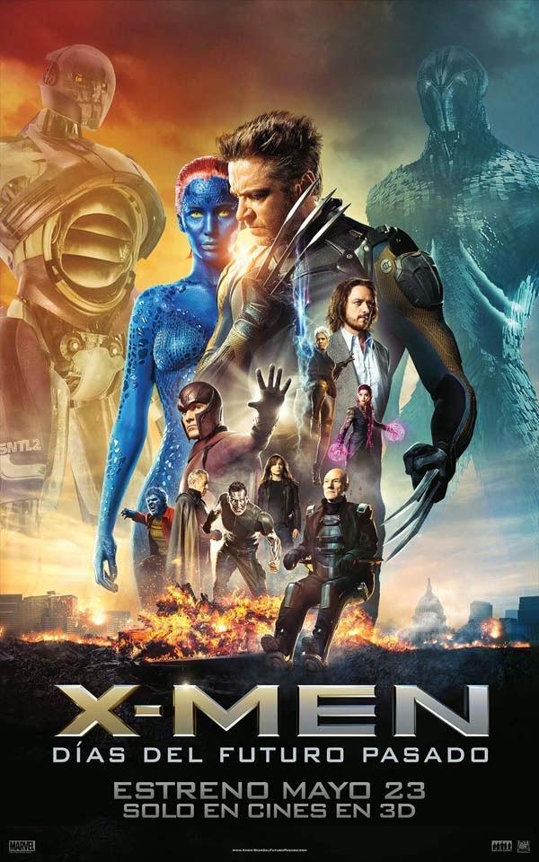 X-Men-Días-del-Futuro-Pasado-2014-afiche-poster