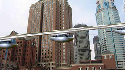 Táxi voador já é realidade em Israel