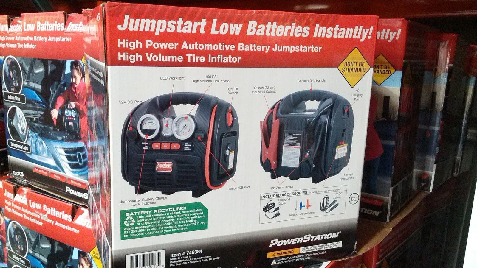 Powerstation Psx3 Battery Jump Starter Portable Power Source And