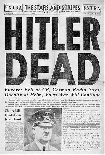 muerte de hitler teorias