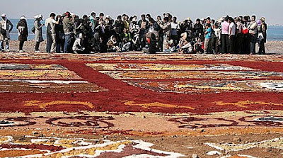 World Largest Sand Carpet