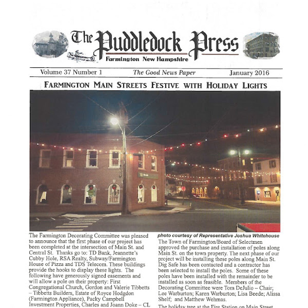 January 2016 Puddledock Press is Available Now!