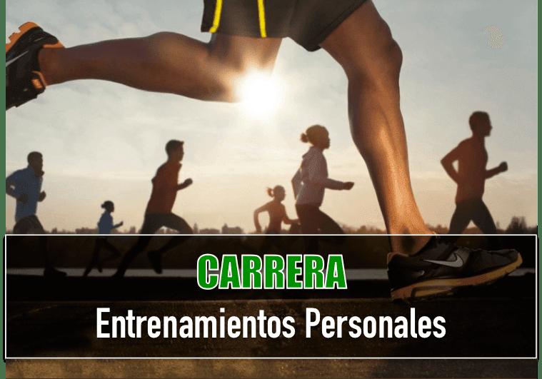 Entrenos Personales Carrera