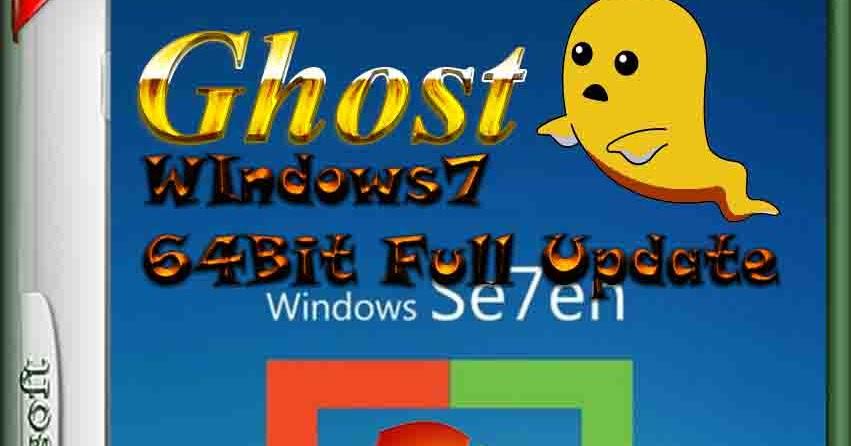 GHost WIndows7 X 64 Bit Full Update ลงเสร็จเป็นของแท้ทันที ...